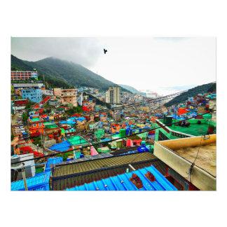 Pueblo cultural Corea de Gamcheon Fotografía