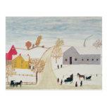 Pueblo de Amish Tarjetas Postales