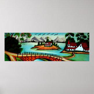 Pueblo de Bangladesh Póster