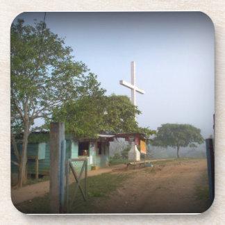 Pueblo de Borucan con la cruz Posavaso