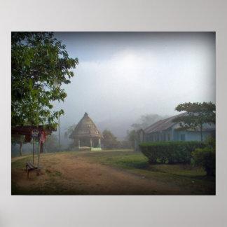 Pueblo de Borucan Posters
