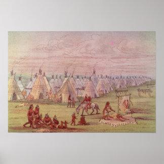 Pueblo de Comanchee Poster