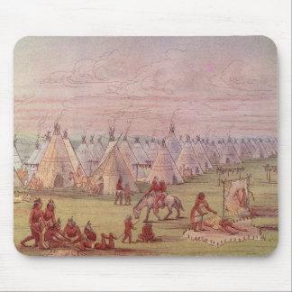 Pueblo de Comanchee Tapetes De Ratón