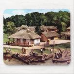 Pueblo de Congo Mousepad