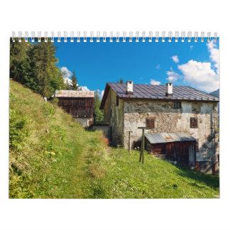 Pueblo de Dolomiti - de Ronch Calendarios De Pared