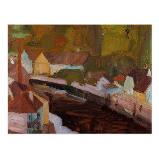 Pueblo de Egon Schiele- por el río Postales
