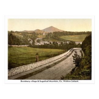 Pueblo de Enniskerry montaña Wicklow de Sugarloaf