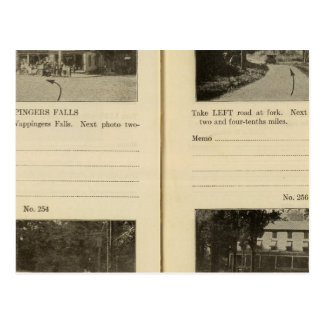 Pueblo de Fishkill de los Wappingers Falls Tarjeta Postal