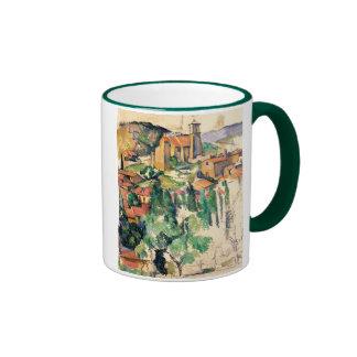 Pueblo de Gardanne, Paul Cézanne Tazas