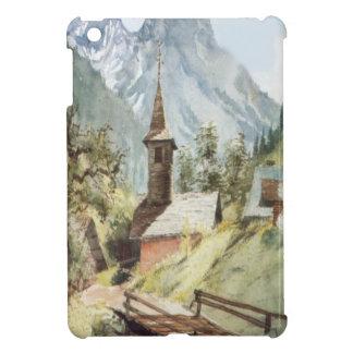 Pueblo de montaña cerca de la gama del Mt Blanc iPad Mini Cárcasas