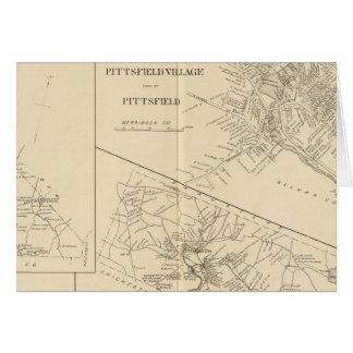 Pueblo de Pittsfield, Dunbarton, Pittsfield Tarjeta De Felicitación