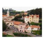 Pueblo de Sintra en Portugal Postal