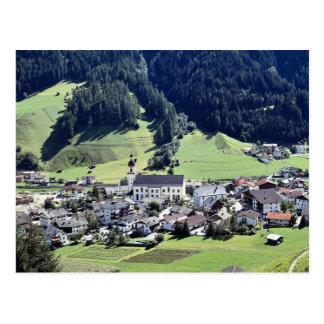 Pueblo de Srubairal, Neustift, el Tyrol, Austria e Postal
