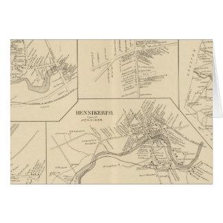 Pueblo de Suncock, Danbury, Henniker, W Henniker P Tarjeta De Felicitación