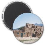 Pueblo de Taos Imán Redondo 5 Cm