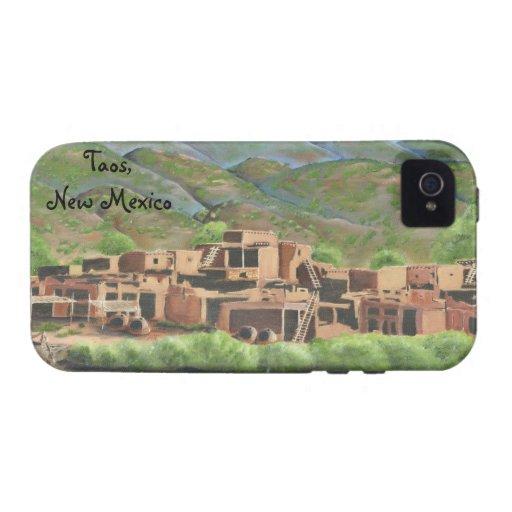 Pueblo de Taos, New México iPhone 4 Funda