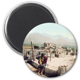 Pueblo de Taos New Mexico Magnet