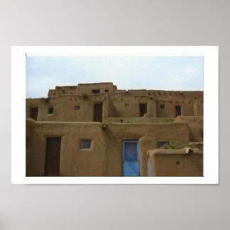 Pueblo de Taos Posters
