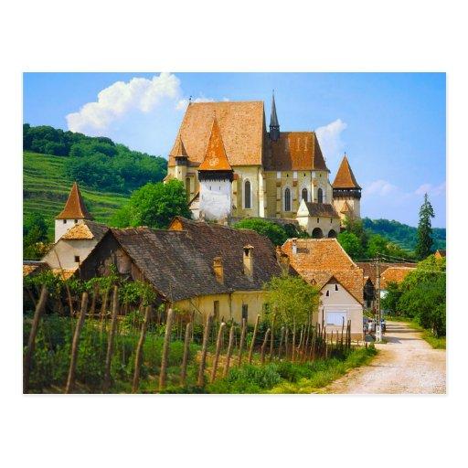 Pueblo de Transylvannian Postales