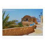 Pueblo del Berber en Túnez Tarjetas Postales