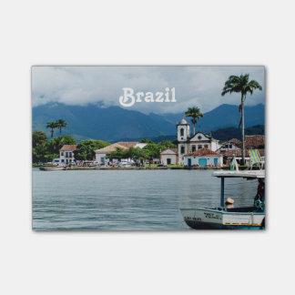 Pueblo del Brasil Notas Post-it