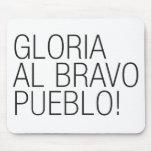 Pueblo del bravo del Al de Gloria - Venezuela Alfombrillas De Raton