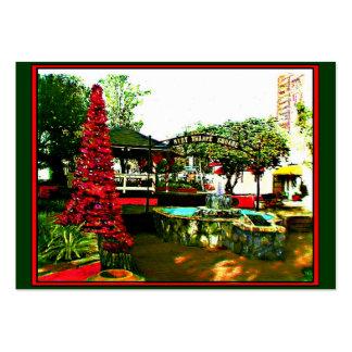 Pueblo del cacao, Navidad 2004~1 de FL por el ~OE Tarjetas De Visita Grandes