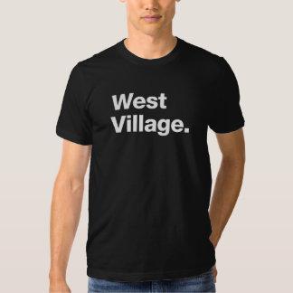 Pueblo del oeste (blanco) poleras