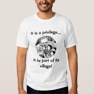 Pueblo del privilegio remera