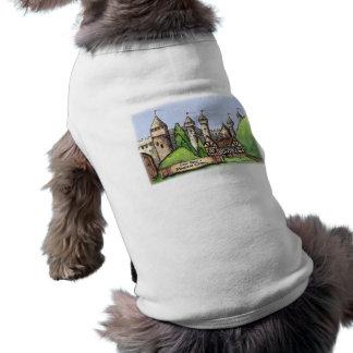 Pueblo del renacimiento camiseta sin mangas para perro