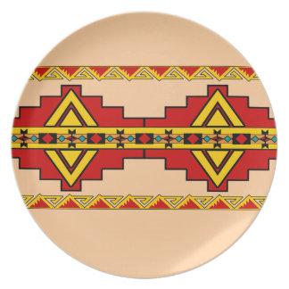 Pueblo Design Plates