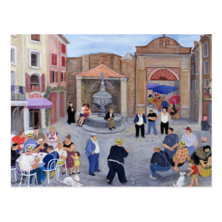Pueblo en Provence Tarjeta Postal