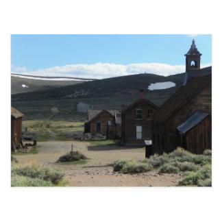 Pueblo fantasma de Bodie Postal