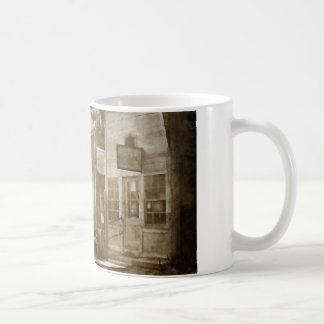 Pueblo fantasma taza de café