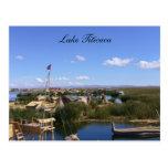 pueblo flotante del titicaca postales
