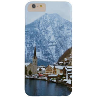 Pueblo Hallstatt en el lago - Salzburg Austria Funda Para iPhone 6 Plus Barely There