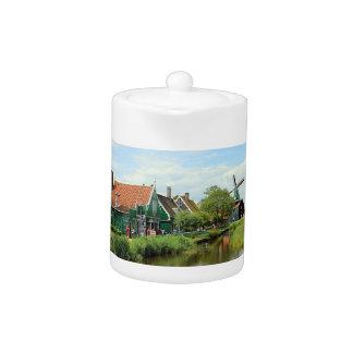 Pueblo holandés del molino de viento