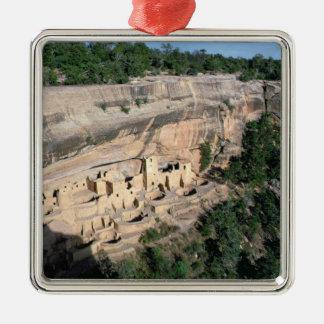 Pueblo Indian cliff dwellings Metal Ornament