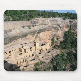 Pueblo Indian cliff dwellings Mouse Pad