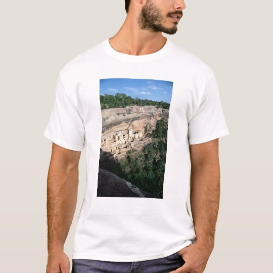 Pueblo Indian cliff dwellings T-Shirt