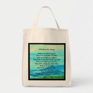 Pueblo Indian prayer Tote Bag