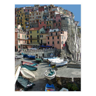 Pueblo Italia Cinque Terre de Riomaggiore Postales