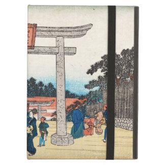 Pueblo japonés fresco de la puerta de los toros de