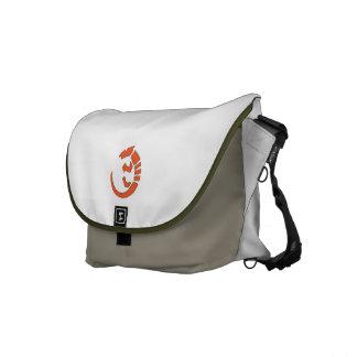 Pueblo Lizard - Southwest Indian Design Messenger Bag