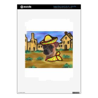 PUEBLO MEXICANO iPad 3 PEGATINA SKIN