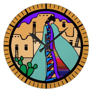 Southwest Design southwest designs wall clocks   zazzle