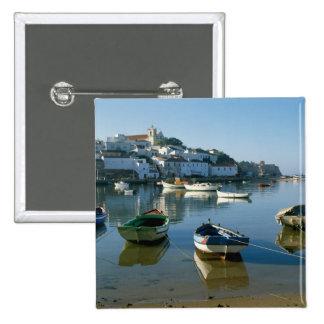 Pueblo pesquero de Ferragudo, Algarve, Portugal Pin