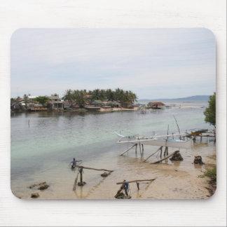 Pueblo pesquero del Visayan Alfombrilla De Raton