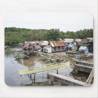 Pueblo pesquero del Visayan Tapetes De Ratones