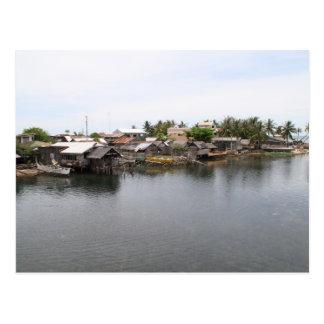 Pueblo pesquero del Visayan Postal